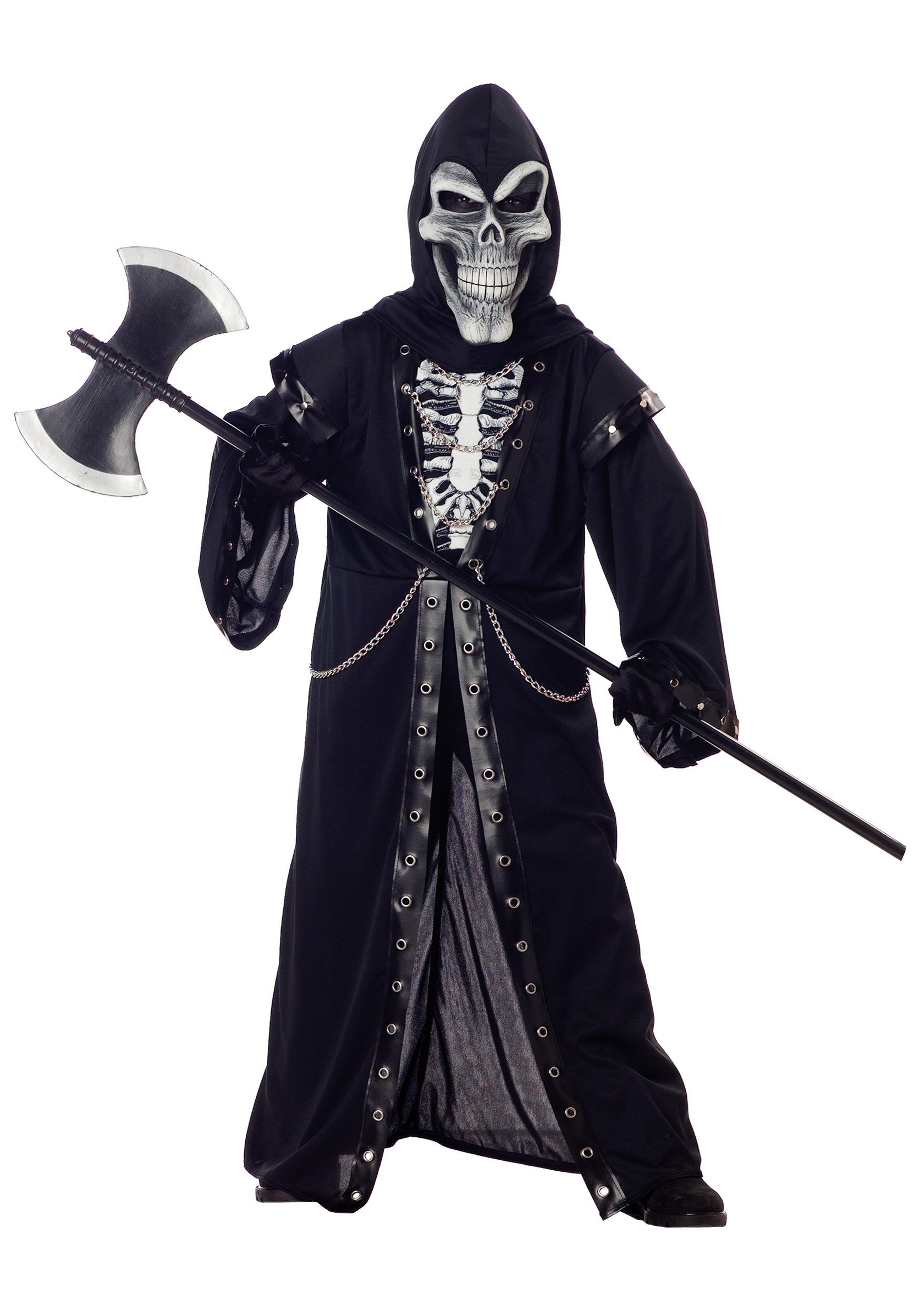 Kids Crypt Master Skeleton Costume  sc 1 st  Halloween Costumes & Kids Crypt Master Skeleton Costume - Halloween Costumes