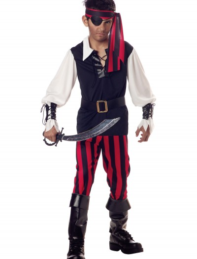 Kid's Cutthroat Pirate Costume, halloween costume (Kid's Cutthroat Pirate Costume)