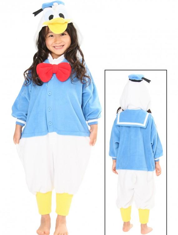 Kids Donald Duck Pajama Costume, halloween costume (Kids Donald Duck Pajama Costume)
