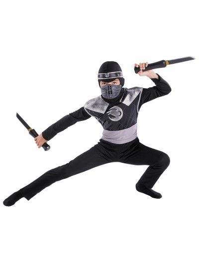 Kids Dark Raven Ninja Costume, halloween costume (Kids Dark Raven Ninja Costume)