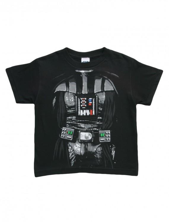 Kids Dark Star Wars Darth Vader Costume T-Shirt, halloween costume (Kids Dark Star Wars Darth Vader Costume T-Shirt)