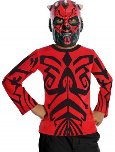 Kids Darth Maul Top and Mask, halloween costume (Kids Darth Maul Top and Mask)