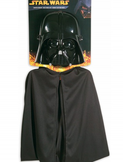 Kids Darth Vader Mask and Cape, halloween costume (Kids Darth Vader Mask and Cape)