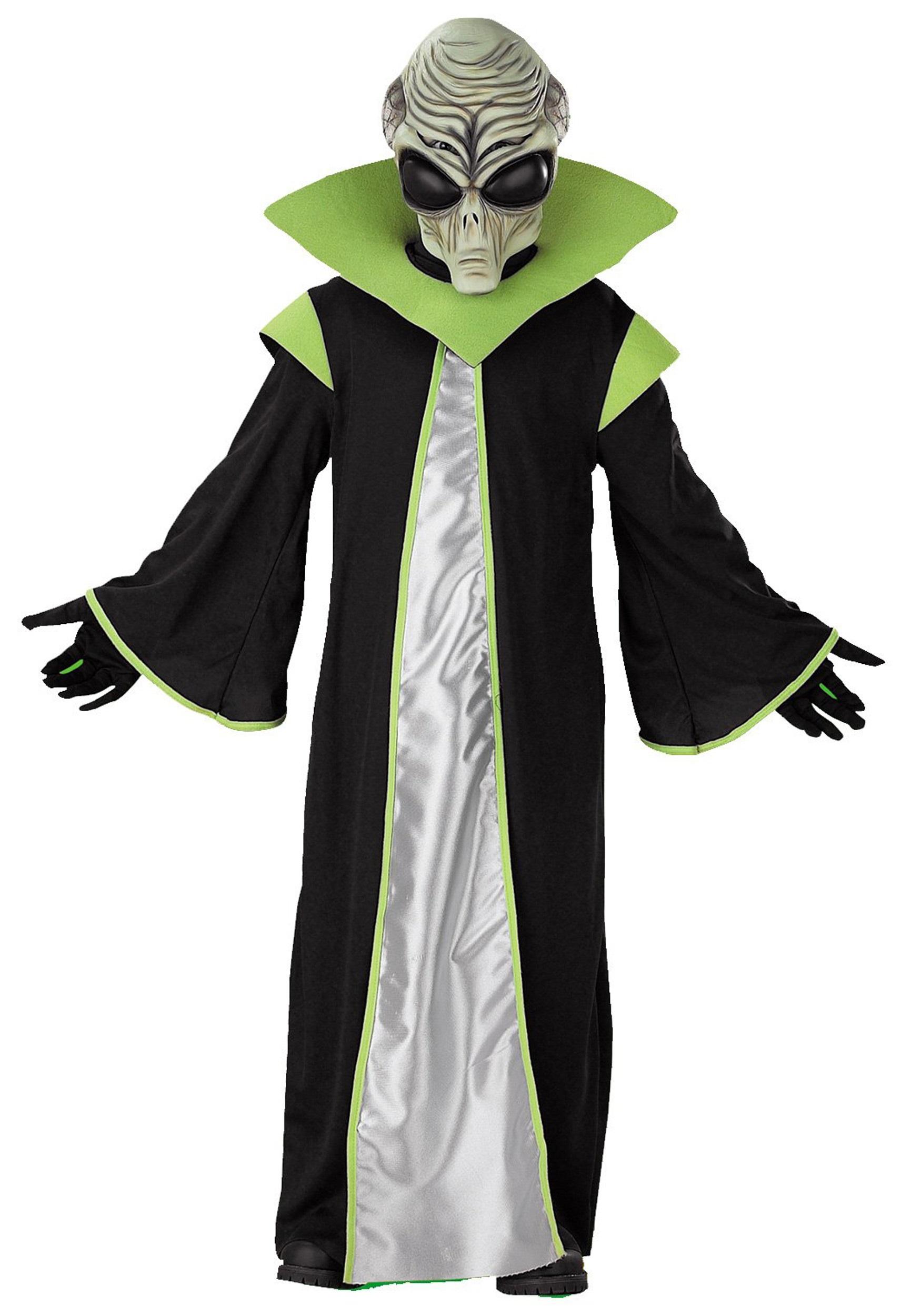 kids deluxe alien costume