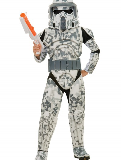 Kids Deluxe ARF Trooper Costume, halloween costume (Kids Deluxe ARF Trooper Costume)