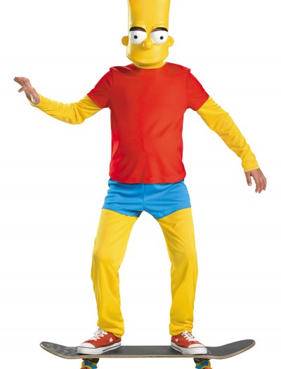 Kids Deluxe Bart Simpson Costume, halloween costume (Kids Deluxe Bart Simpson Costume)