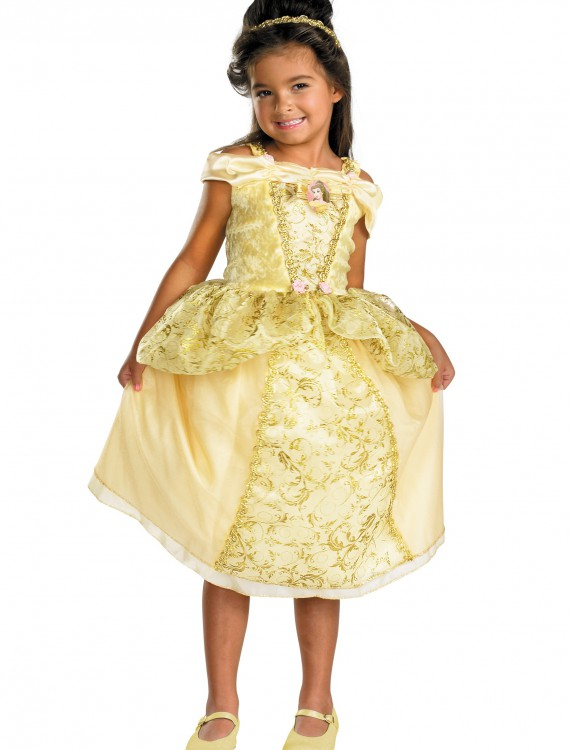 Kids Deluxe Belle Costume, halloween costume (Kids Deluxe Belle Costume)