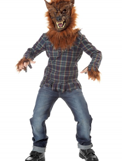 Kids Deluxe Blue Werewolf Costume, halloween costume (Kids Deluxe Blue Werewolf Costume)