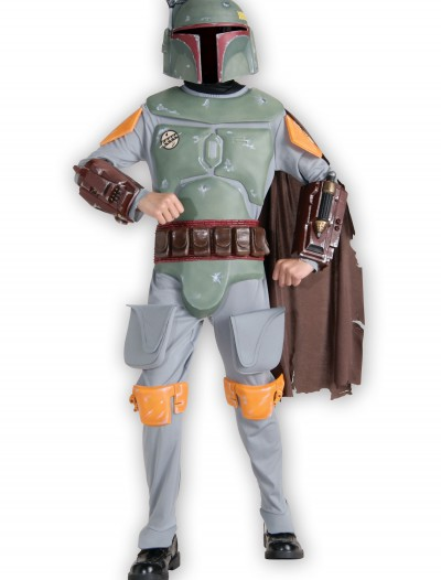 Kids Deluxe Boba Fett Costume, halloween costume (Kids Deluxe Boba Fett Costume)