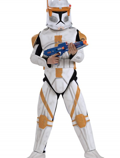 Boys Deluxe Clone Trooper Commander Cody Costume, halloween costume (Boys Deluxe Clone Trooper Commander Cody Costume)