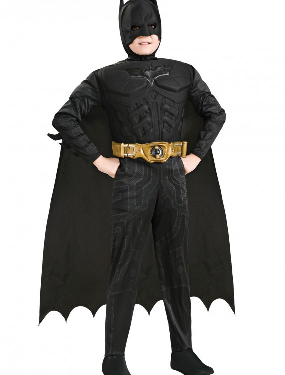 Kids Deluxe Dark Knight Batman, halloween costume (Kids Deluxe Dark Knight Batman)
