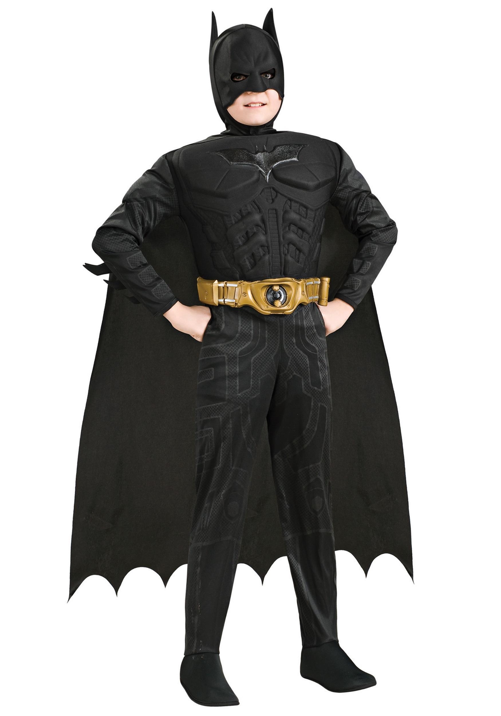 Kids Deluxe Dark Knight Batman  sc 1 st  Halloween Costumes & Kids Deluxe Dark Knight Batman - Halloween Costumes