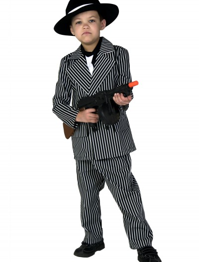 Kids Deluxe Gangster Costume, halloween costume (Kids Deluxe Gangster Costume)