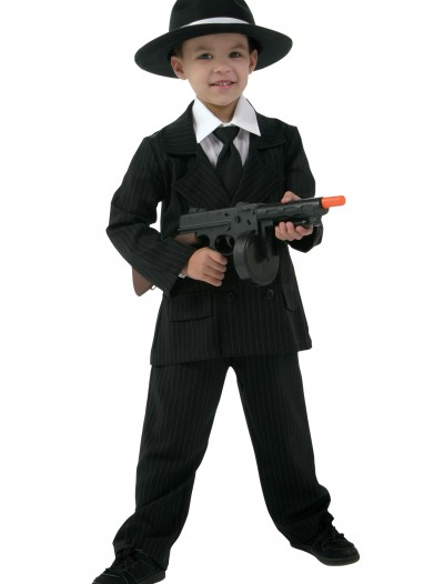 Kid's Deluxe Gangster Suit, halloween costume (Kid's Deluxe Gangster Suit)