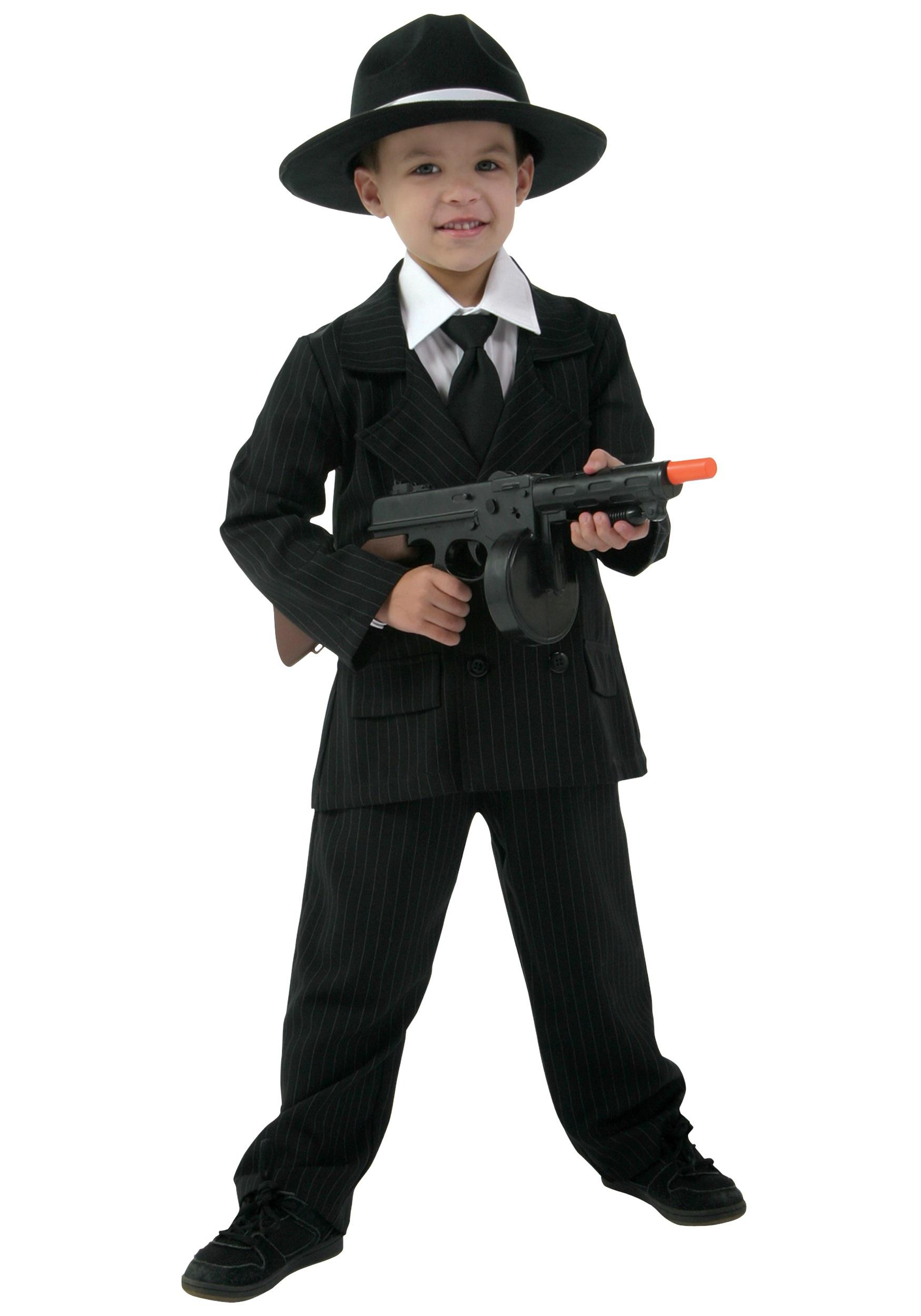 Kidu0027s Deluxe Gangster Suit  sc 1 st  Halloween Costumes & Kidu0027s Deluxe Gangster Suit - Halloween Costumes