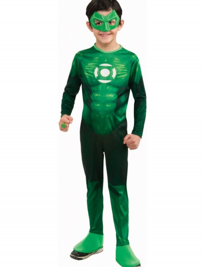 Kids Deluxe Green Lantern Costume, halloween costume (Kids Deluxe Green Lantern Costume)