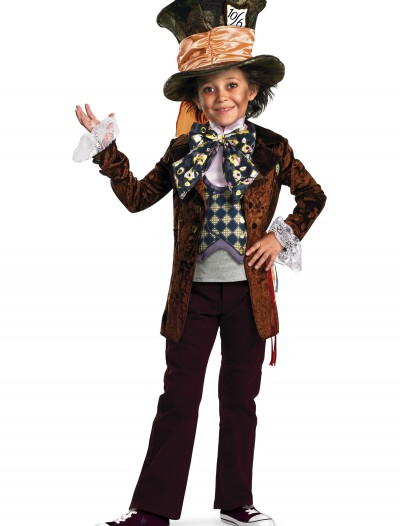 Kids Deluxe Mad Hatter Costume, halloween costume (Kids Deluxe Mad Hatter Costume)