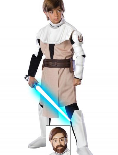Kids Deluxe Obi Wan Kenobi Costume, halloween costume (Kids Deluxe Obi Wan Kenobi Costume)