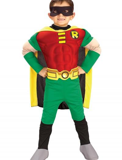 Kids Deluxe Robin Costume, halloween costume (Kids Deluxe Robin Costume)