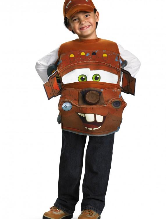 Kids Deluxe Tow Mater Costume, halloween costume (Kids Deluxe Tow Mater Costume)
