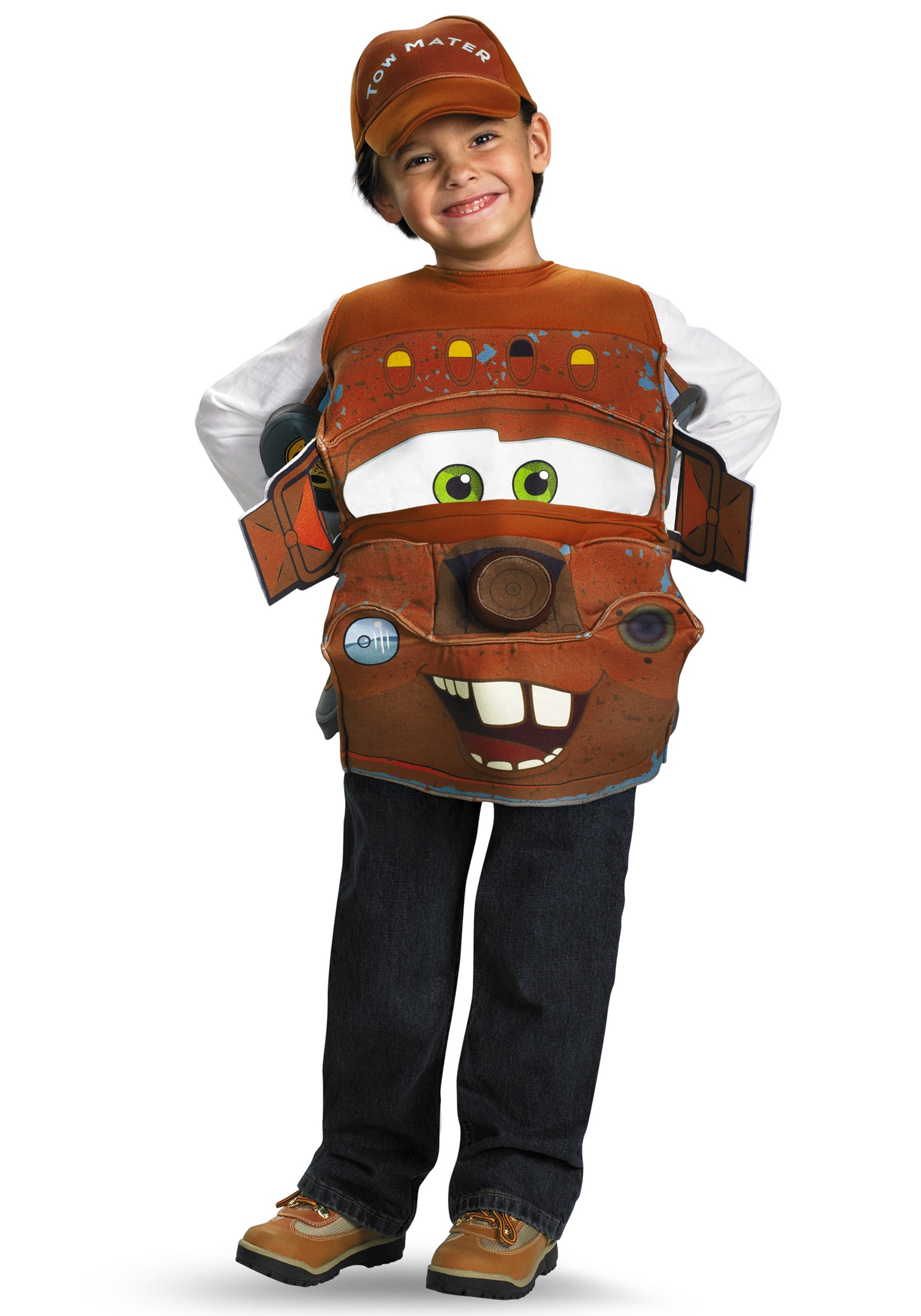 Kids Deluxe Tow Mater Costume  sc 1 st  Halloween Costumes : disney characters halloween costume ideas  - Germanpascual.Com