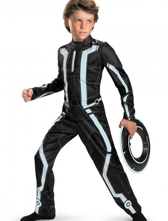 Kids Deluxe Tron Costume, halloween costume (Kids Deluxe Tron Costume)