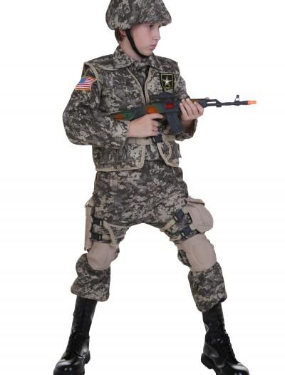 Kids Deluxe U.S. Army Ranger Costume, halloween costume (Kids Deluxe U.S. Army Ranger Costume)