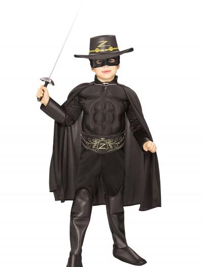 Kids Deluxe Zorro Costume, halloween costume (Kids Deluxe Zorro Costume)