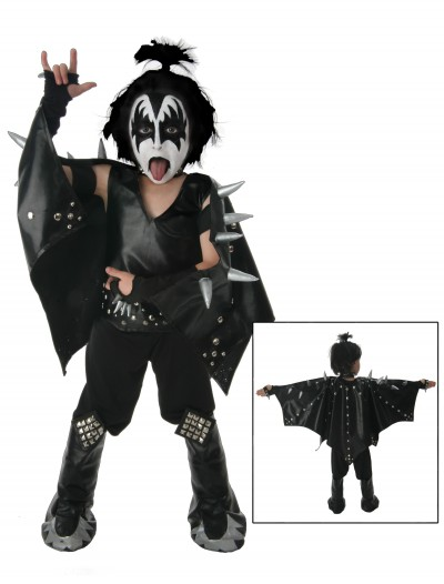 Kids Demon KISS Costume, halloween costume (Kids Demon KISS Costume)