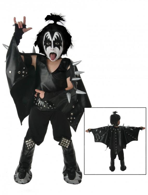 Kids Demon KISS Costume, halloween costume (Kids Demon KISS Costume)