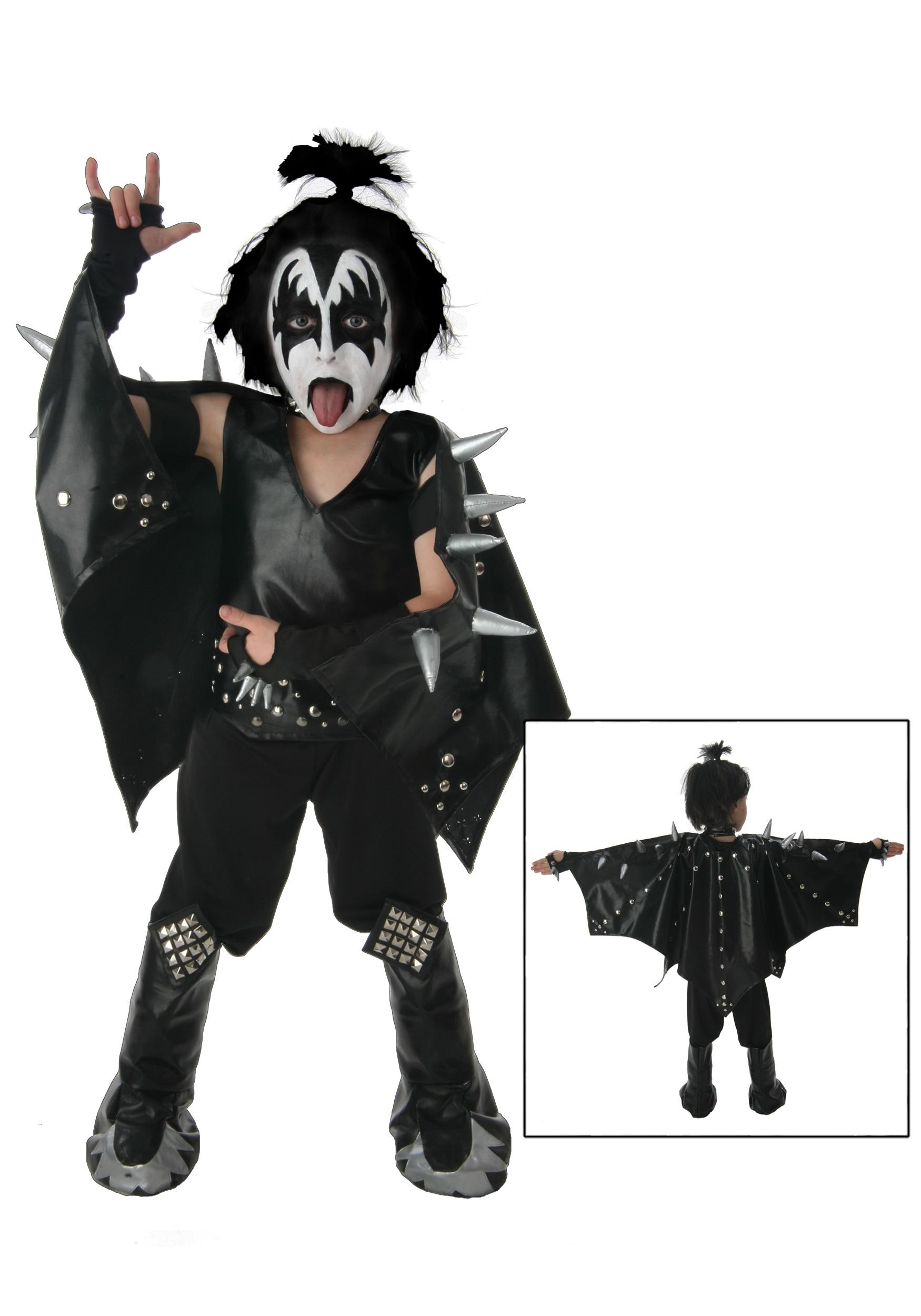 Kids Demon KISS Costume  sc 1 st  Halloween Costumes & Kids Demon KISS Costume - Halloween Costumes