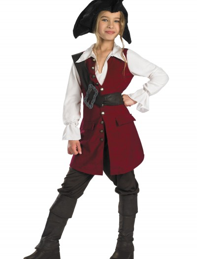 Kid's Elizabeth Swann Pirate Costume, halloween costume (Kid's Elizabeth Swann Pirate Costume)