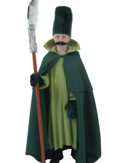Kids Green Guard Costume, halloween costume (Kids Green Guard Costume)