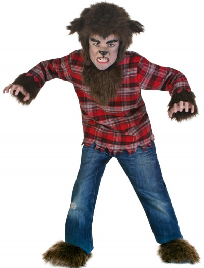 Kids Fierce Werewolf Costume, halloween costume (Kids Fierce Werewolf Costume)
