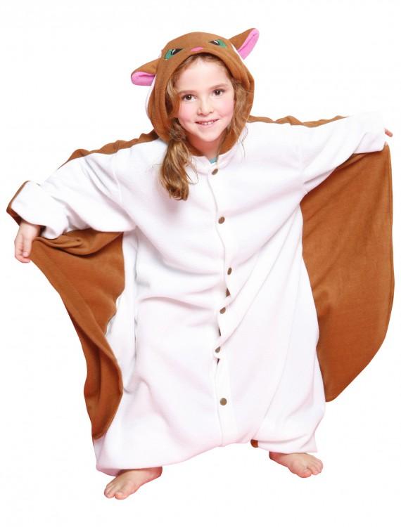 Kids Flying Squirrel Pajama Costume, halloween costume (Kids Flying Squirrel Pajama Costume)
