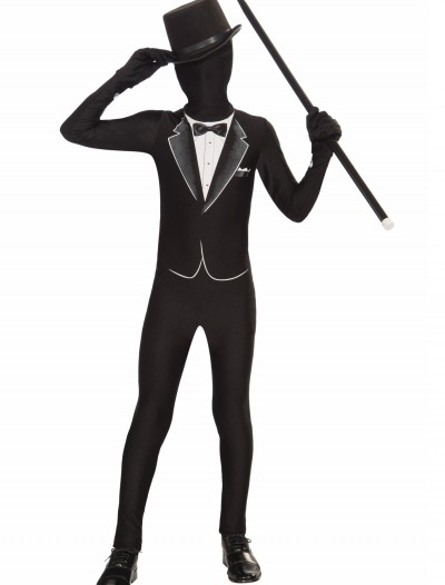 Kids Formal Tuxedo Skin Suit, halloween costume (Kids Formal Tuxedo Skin Suit)