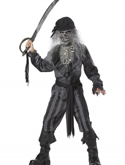 Kids Ghost Ship Pirate Costume, halloween costume (Kids Ghost Ship Pirate Costume)