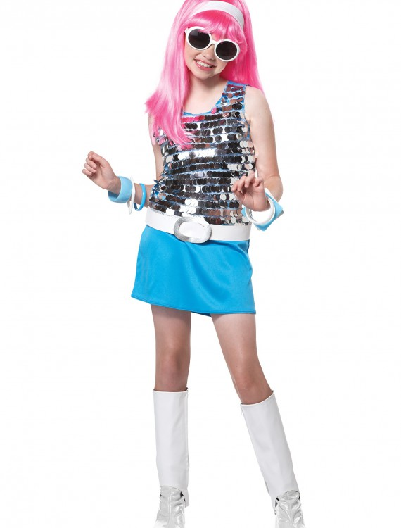Kids Go Go Girl Costume, halloween costume (Kids Go Go Girl Costume)