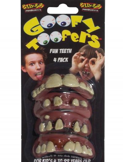 Kids Goofy Toofers 4 Pack, halloween costume (Kids Goofy Toofers 4 Pack)