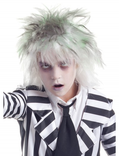 Kids Graveyard Ghost Wig, halloween costume (Kids Graveyard Ghost Wig)