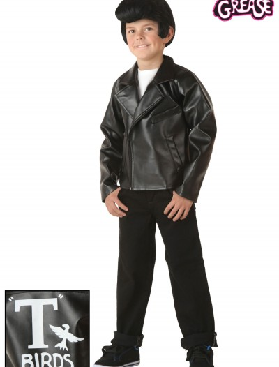 Kids Grease T-Birds Jacket, halloween costume (Kids Grease T-Birds Jacket)