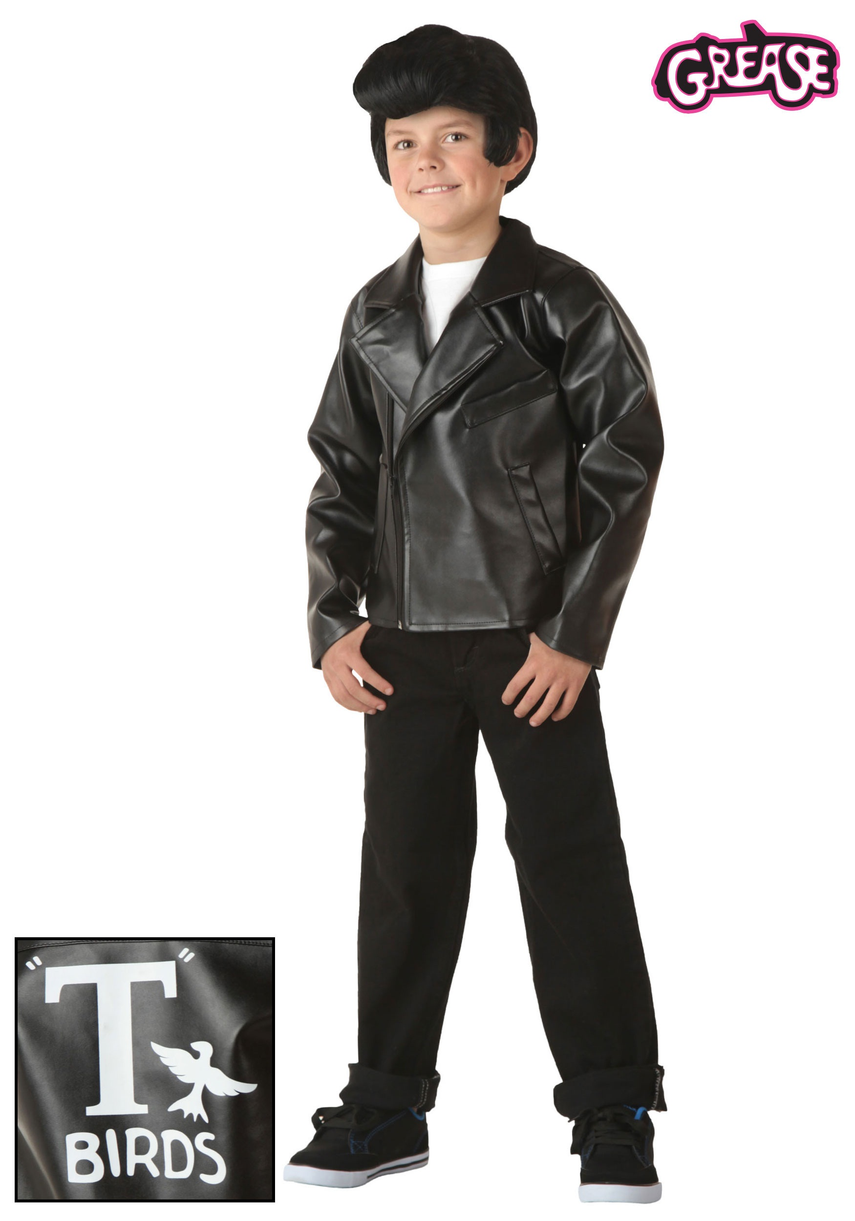 Kids Grease T,Birds Jacket , Halloween Costumes