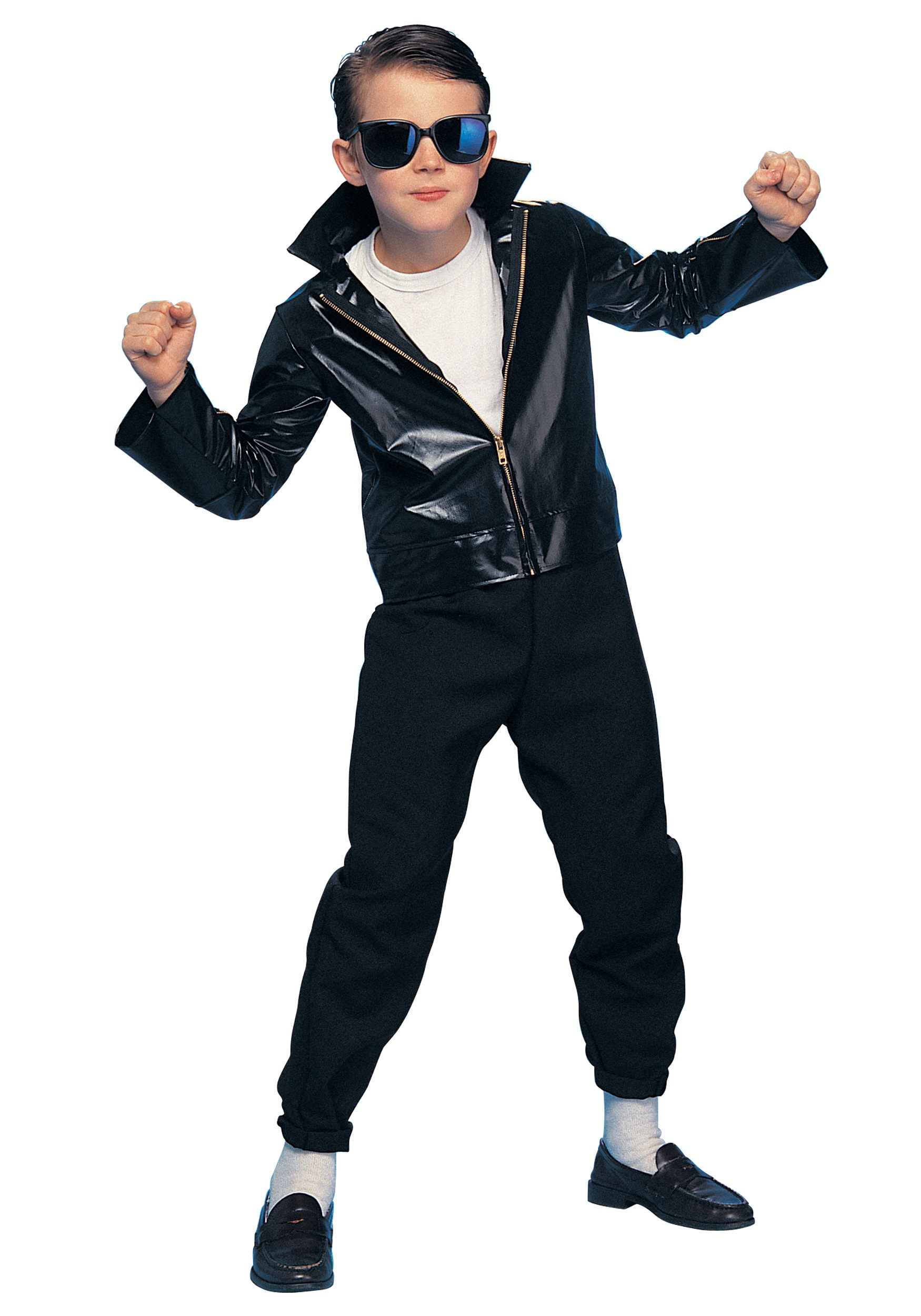 Kids Greaser Costume  sc 1 st  Halloween Costumes & Kids Greaser Costume - Halloween Costumes