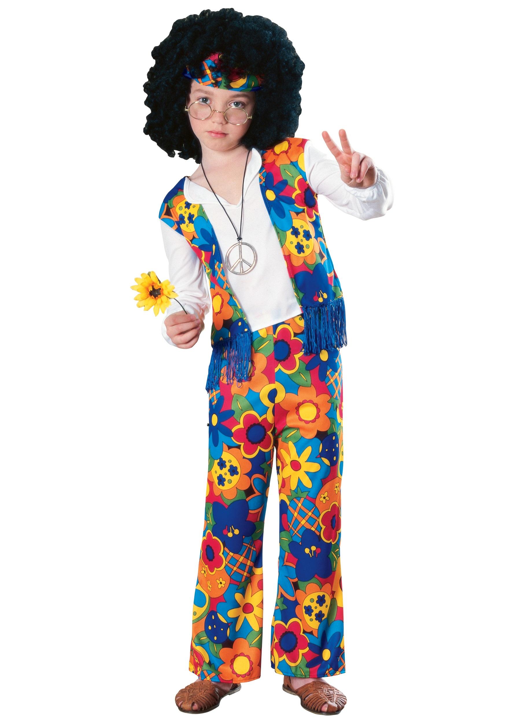 Kids Hippie Costume  sc 1 st  Halloween Costumes & Kids Hippie Costume - Halloween Costumes