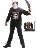 Kids Hockey Masked Maniac Costume, halloween costume (Kids Hockey Masked Maniac Costume)