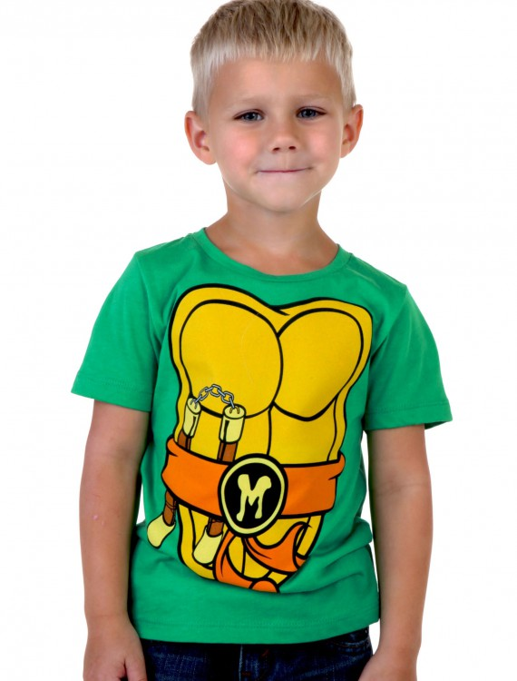 Toddler I Am Mike TMNT Costume T-Shirt, halloween costume (Toddler I Am Mike TMNT Costume T-Shirt)