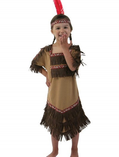 Kids Indian Girl Costume, halloween costume (Kids Indian Girl Costume)