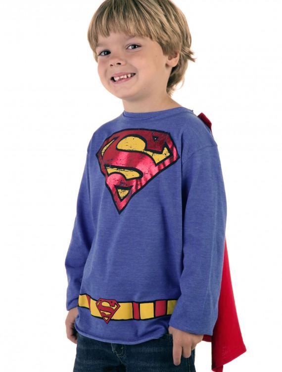 Kids Krypton Hero Royal Blue Superman T-Shirt, halloween costume (Kids Krypton Hero Royal Blue Superman T-Shirt)