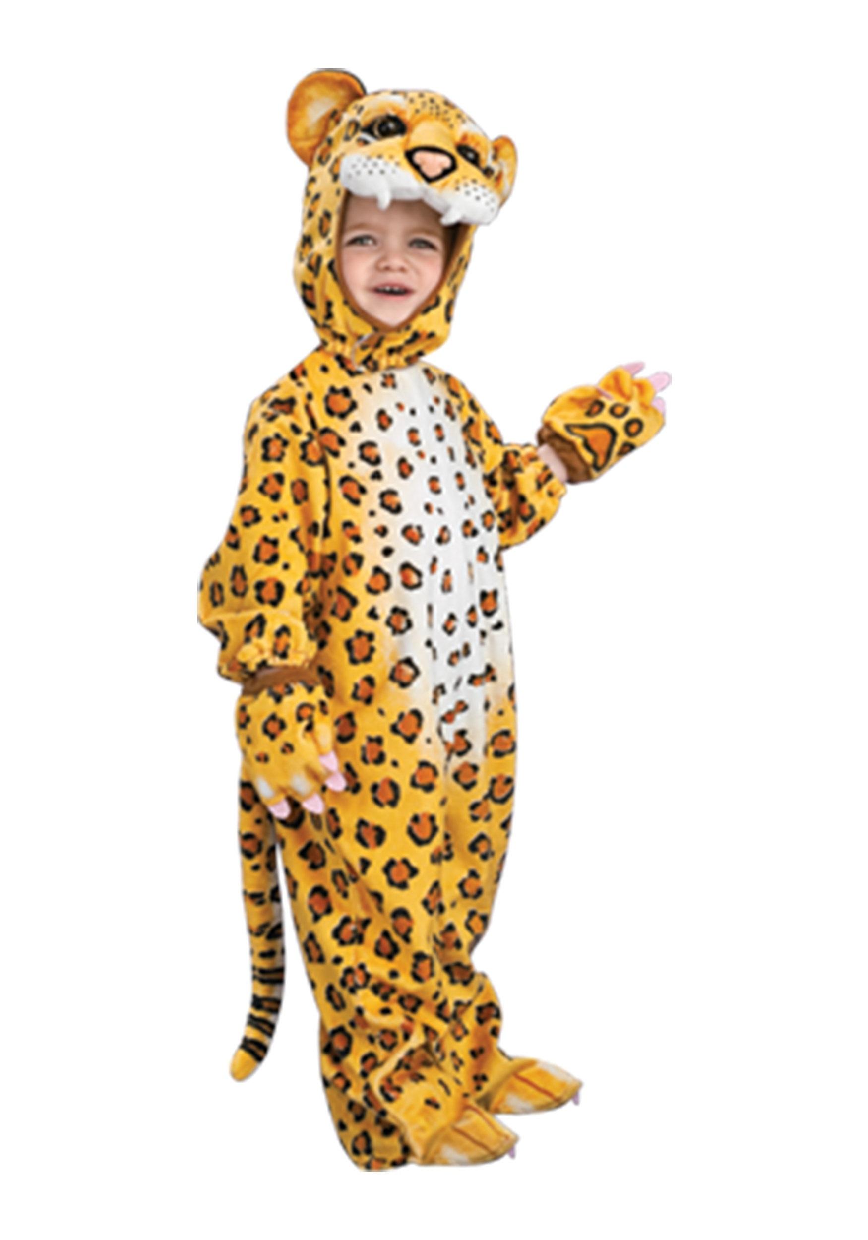 Kids Leopard Costume Halloween Costumes