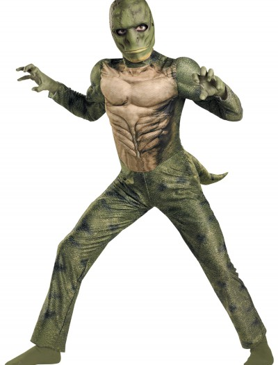 Kids Lizard Muscle Costume, halloween costume (Kids Lizard Muscle Costume)